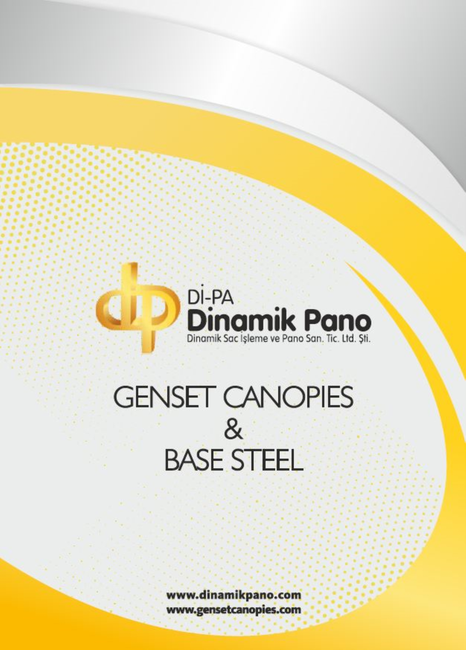 Genset Canopies  & Base Steel